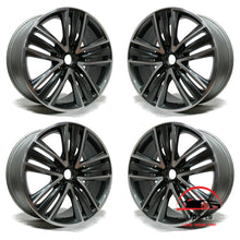 "Load image into Gallery viewer, SET OF 4 INFINITI Q50 2014 2015 2016 19"" FACTORY ORIGINAL  WHEELS RIMS"