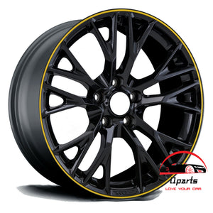 "CHEVROLET CORVETTE 2016 2017 2018 2019 19"" FACTORY ORIGINAL WHEEL RIM FRONT"