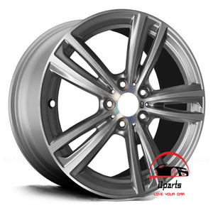 "BMW 3 & 4 SERIES ACTIVEHYBRID 3 2014-2019 19"" FACTORY ORIGINAL REAR WHEEL RIM"