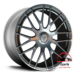 19 INCH ALLOY RIM WHEEL FACTORY OEM AMG REAR 85457 A2054011800