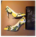 Load image into Gallery viewer, Stiletto Heel Dress Shoes