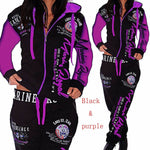 Load image into Gallery viewer, Womens 2pc Track Suit