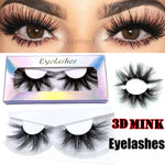 Load image into Gallery viewer, 3D Mink False Eyelashes Wispies