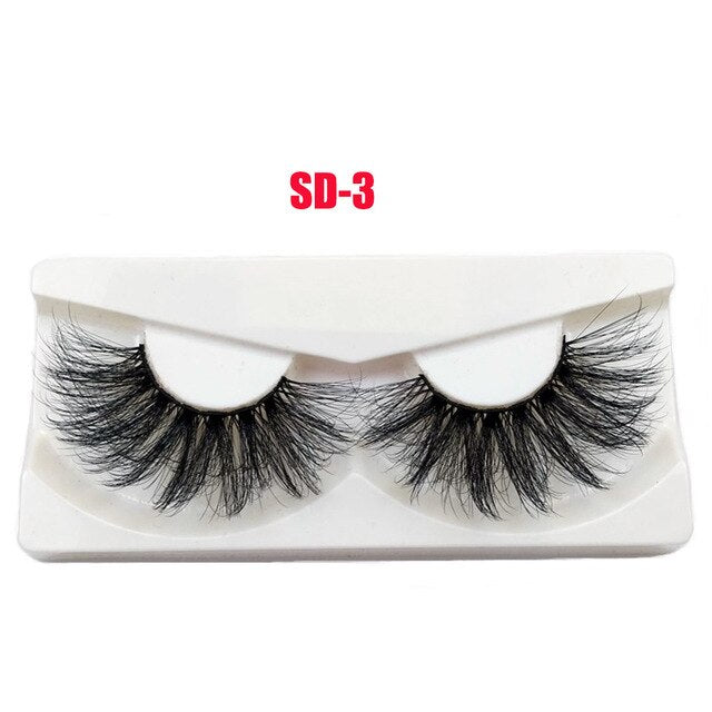 3D Mink False Eyelashes Wispies