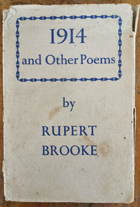 Rupert Brooke - 1914 and Other Poems