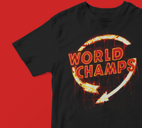 """World Champs"" KC Tee (Black)"