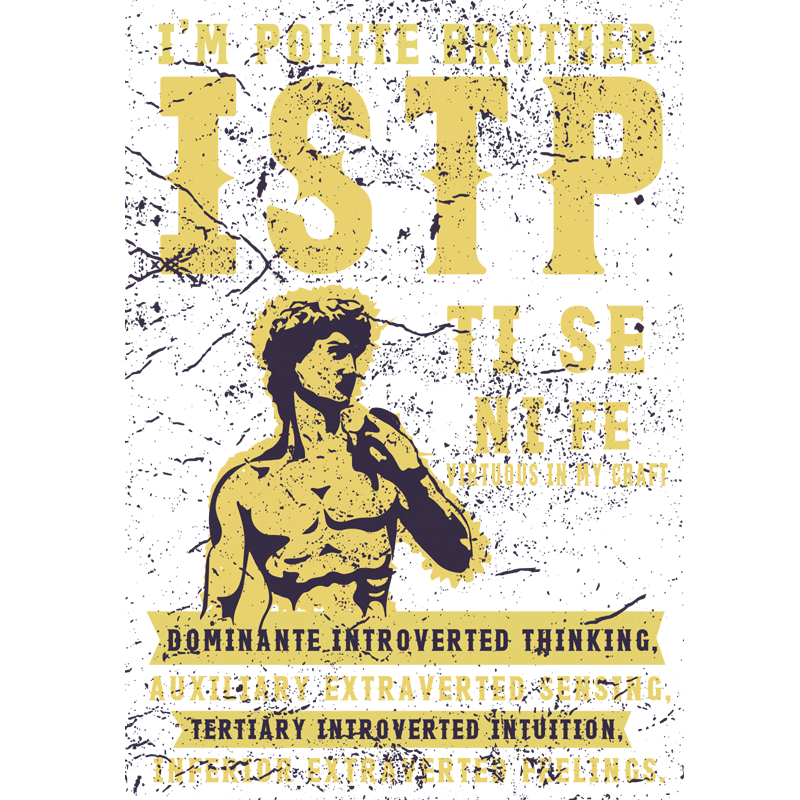 I'm Polite Brother ISTP Mug