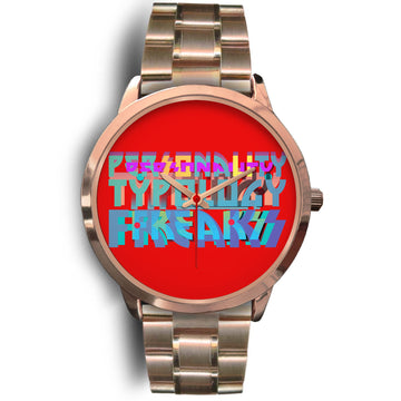 Wrist Watch for the Personality Type enthusiast