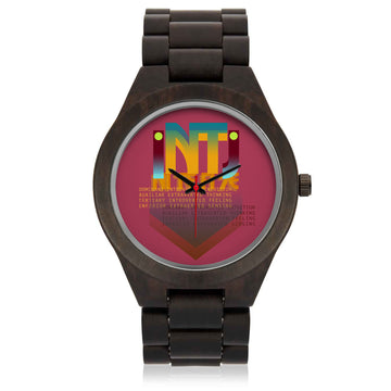 INTJ wrist watch, for the prideful INTJ