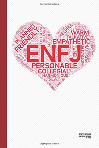 The ENFJ Heart: A Personality Themed Notebook Journal