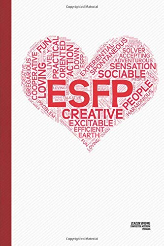 The ESFP Heart: A Personality Themed Notebook Journal