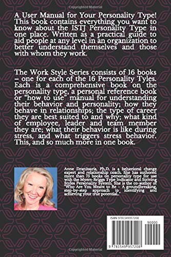 Work Style of the ISTJ: Based on the Myers-Briggs Type Indicator® (Work Style Series)