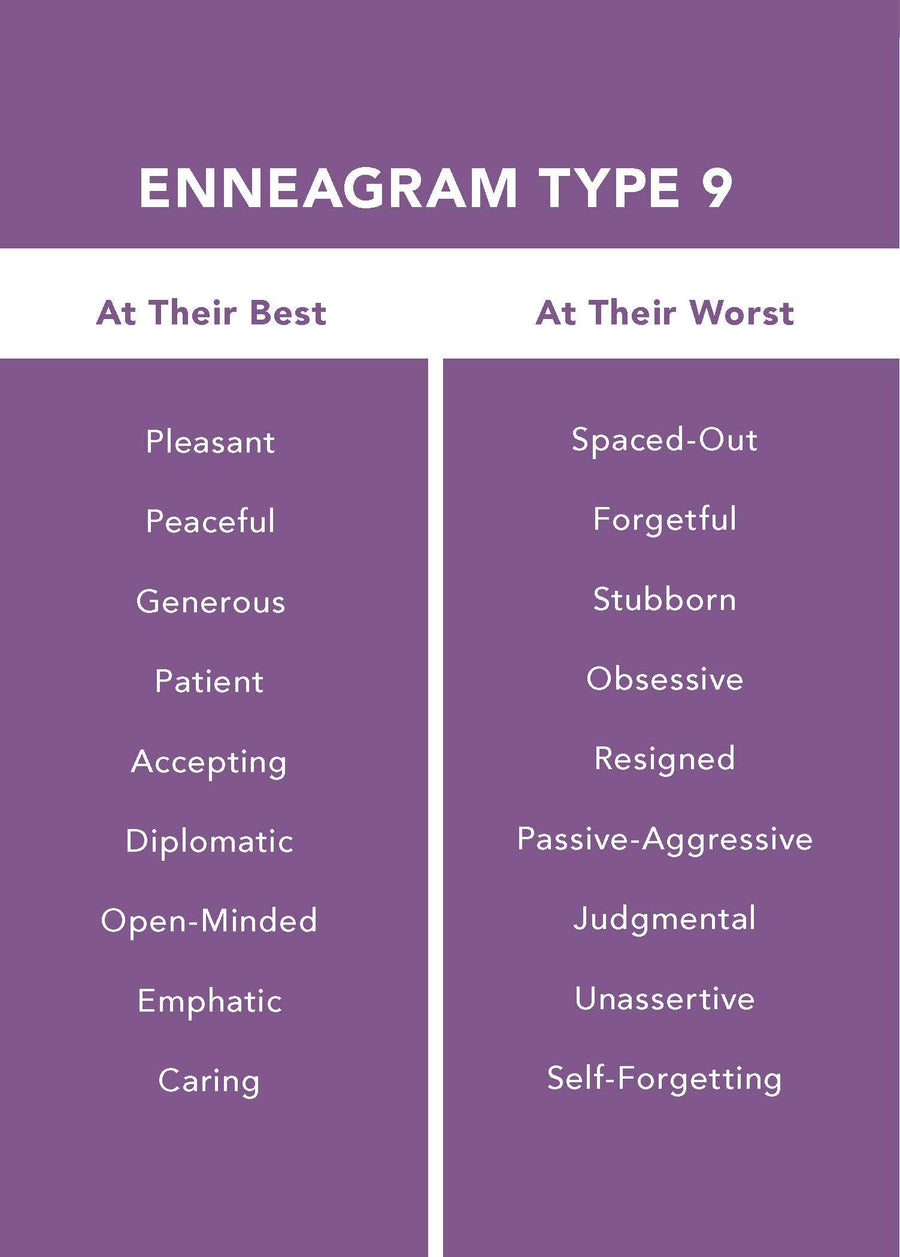The Enneagram Type 9: The Peaceful Mediator (The Enneagram Collection)