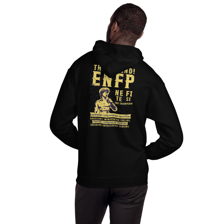 The Friend! ENFP Unisex Hoodie design by Tanvir Mehedi