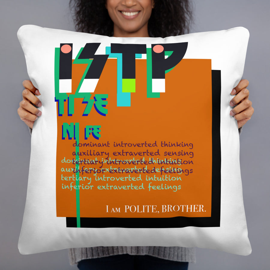 ISTP art by Rio Basic Pillow Pattern