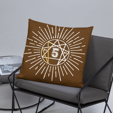 Enneagram 5 Basic Pillow design by Tanvir Mehedi