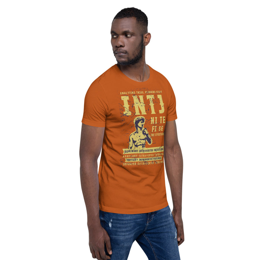 Short-Sleeve Unisex INTJ T-Shirt design by Tanvir Mehedi
