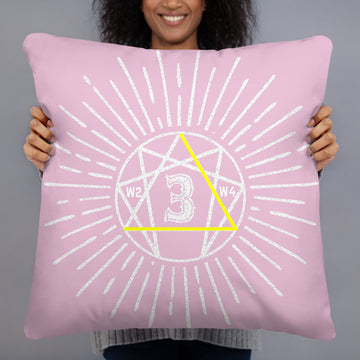 Basic Pillow Enneagram 3 design by Tanvir Mehedi