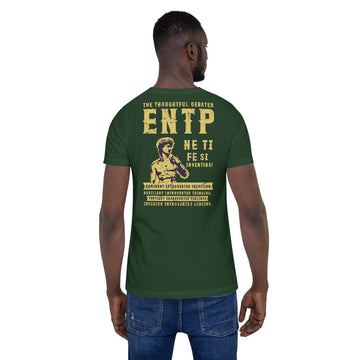 Short-Sleeve Unisex ENTP T-Shirt design by Tanvir Mehedi