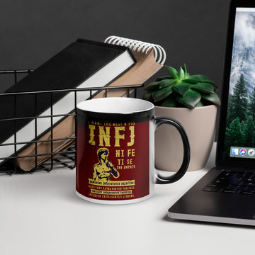 Glossy Magic Mug INFJ design by Tanvir Mehedi