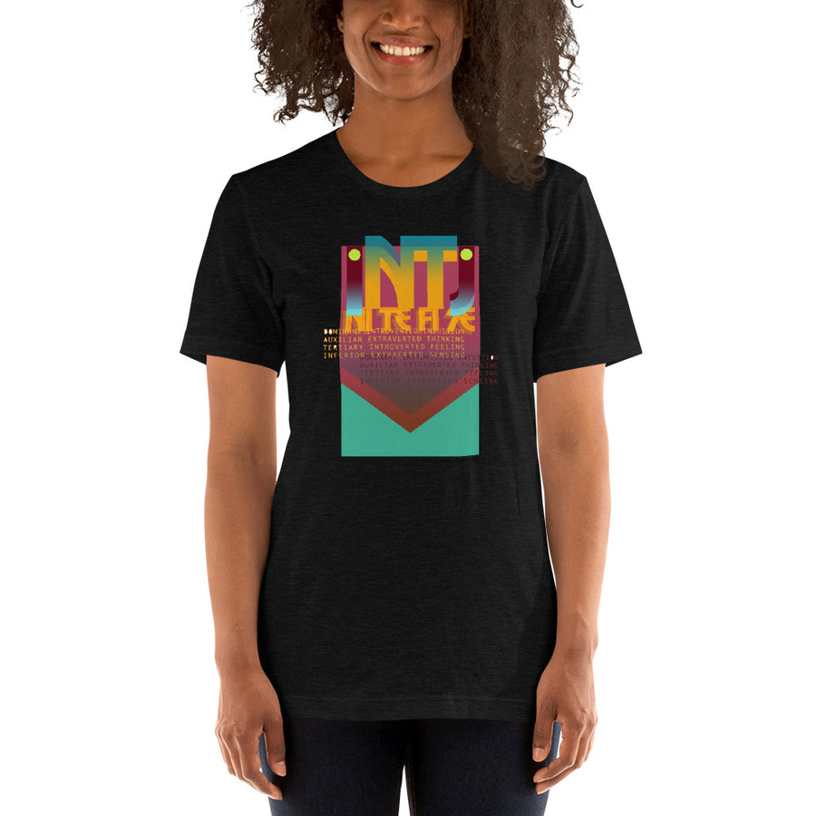 Short-Sleeve Unisex T-Shirt INTJ art by Rio