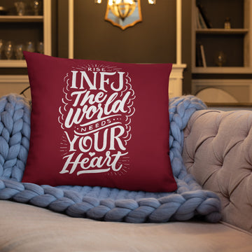 Basic Pillow INFJ design by Ivan Chua