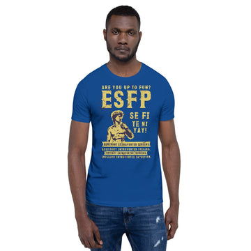 Short-Sleeve Unisex ESFP T-Shirt design by Tanvir Mehedi