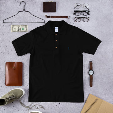 Enneagram 1 embroidered Polo Shirt