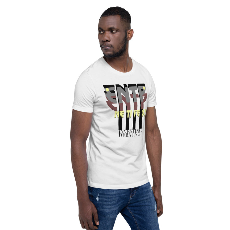 Short-Sleeve Unisex T-Shirt ENTP art by Rio