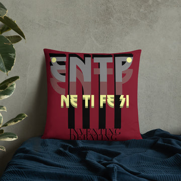 Basic Pillow ENTP art by Rio