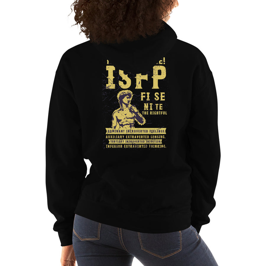 The Sensible! ISFP Unisex Hoodie design by Tanvir Mehedi