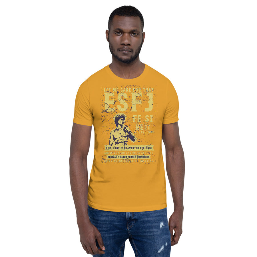 Short-Sleeve Unisex ESFJ T-Shirt design by Tanvir Mehedi
