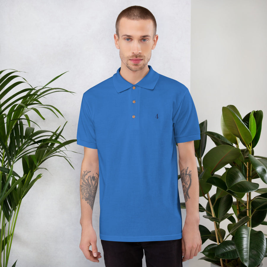 Enneagram 4 Embroidered Polo Shirt