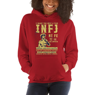 I Want The Best 4 You INFJ Unisex Hoodie design by Tanvir Mehedi