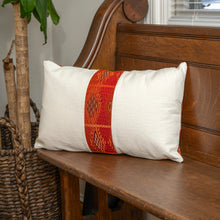 Load image into Gallery viewer, handmade pillow made from vintage guatemalan textiles