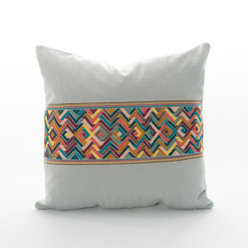 colorful guatemalan pillow