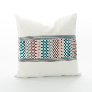 guatemalan textile pillow