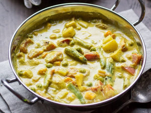 organic vegetable korma