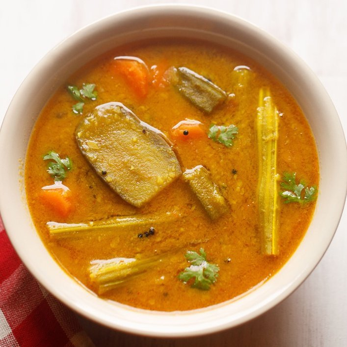 organic vegetable sambar