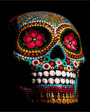 Load image into Gallery viewer, Calavera, Bejeweled Skull