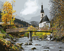 Load image into Gallery viewer, Autumn Church