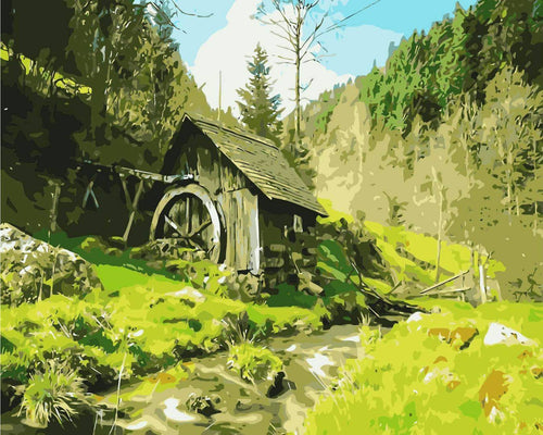 Country Watermill