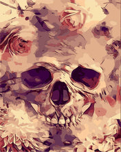 Load image into Gallery viewer, Rosey Skull