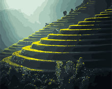 Load image into Gallery viewer, Terraced Rice Fields