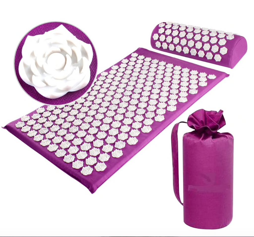 Acupressure Massage Mat & Pillow Set