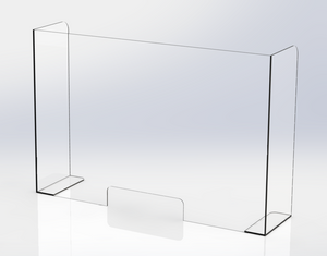 3-sided Covid-19 Barrier