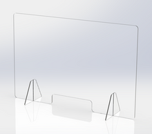 Load image into Gallery viewer, Counter Top Covid-19 Barrier