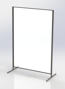Floor Stand Acrylic Screen