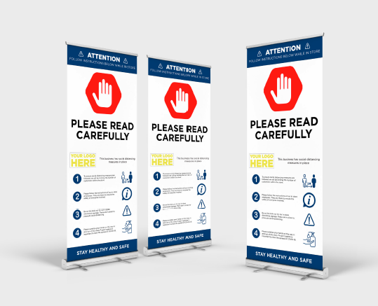 Banner Stand - Awareness Signage