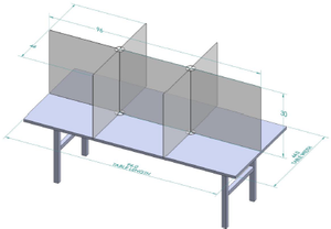 Table Top Divider